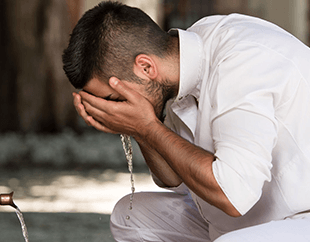 Ablution in Islam